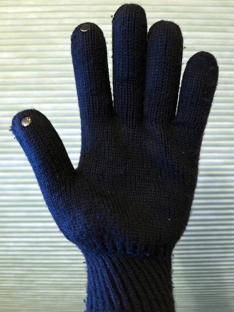 Dot Gloves - Palm View