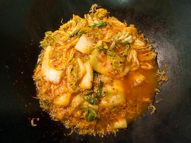 Kimchi Jyako Stir-Fry