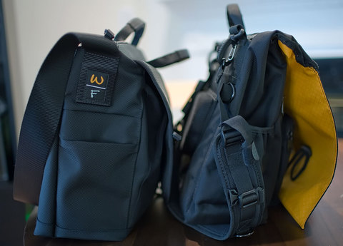 Two Bags Side View