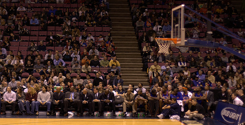 The Knicks Bench