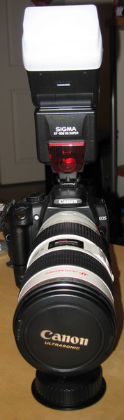 Canon 70-200 IS Front View