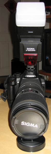 Sigma 70-200 Front View