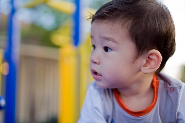 Devon at the Playground