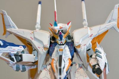Gundam 0025 - Closeup View