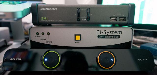3 KVM Switches