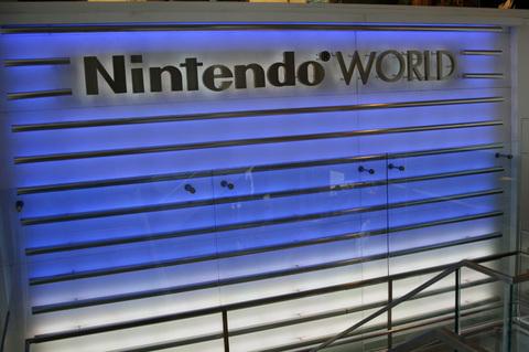 Blue Nintendo World