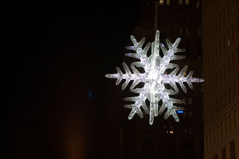 Suspended Snowflake