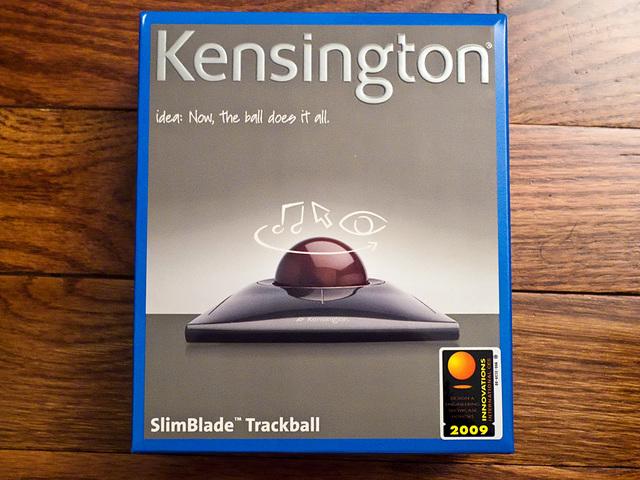 Slimblade Trackball Box - Front